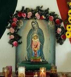 Guadalupe Shrine Campeche Mexico