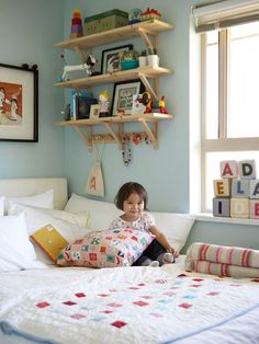 Small space ideas for kids room!