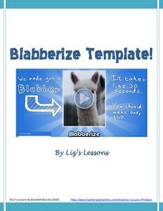 Blabberize is a service that allows you to create your own talking picture, basically a moving mouth on a still image. Blabberize can be used to de...