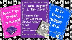 Tape Diagram and Double Number Line resources bundled to save you time and money.$