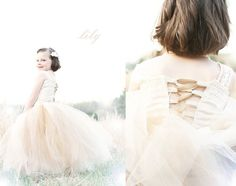 Vintage Inspired Tutu Gown CUSTOM MADE & by KalliAlbaBridal, $240.00