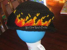 Flaming Cowboy Hat