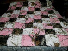 Super cute real tree blanket