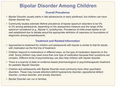 Bipolar Disorder Among Children.