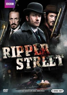 RIPPER STREET SEASON 2.  http://highlandpark.bibliocommons.com/search?t=smart&search_category=keyword&q=ripper+warlow+two&commit=Search