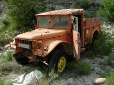 Antiguo coche de bomberos