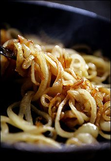 Caramelized Onions. Delicious on burgers, pizza or as a side dish!