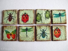 Insect Inchies - PAPER CRAFTS, SCRAPBOOKING & ATCs (ARTIST TRADING CARDS)
