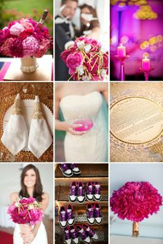 Pink wedding insipration done right from Style Me Pretty