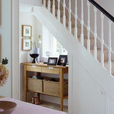 Hallway understairs hideaway
