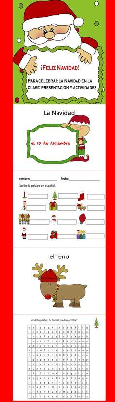 Para celebrar Navidad en la clase