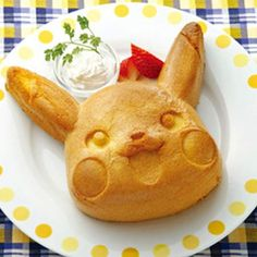 Pikachu cake molds ⊟ Wondering what to serve when your friends...