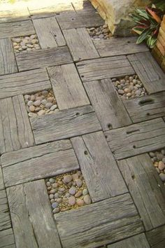 Like this idea for a garden walkway