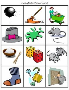 Phonemic Awareness (Including Rhyming) is the foundation for Kindergarten Literacy . This activity focuses on 8 rhymes and has 3 matching pictures ...