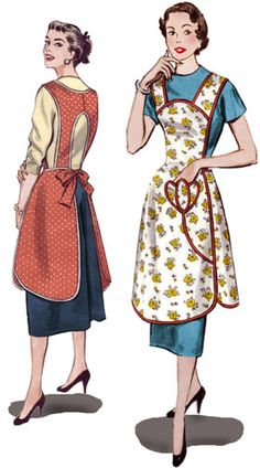 1950's apron