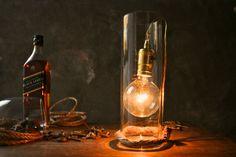 Glass Lamp Glass Lighting Modern Lighting Minimalist by LukeLampCo, $99.00