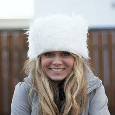DIY fur hat
