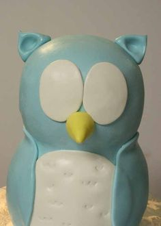 Part 2: How to Make a Standing Owl Cake