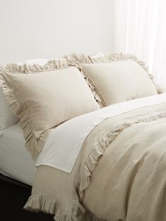 Heather Linen Duvet Set