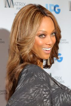 Tyra Banks Layered Cut