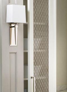 White woodmode essex door house kitchen cabinets storage hardwar