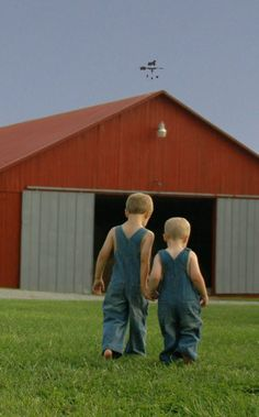 Head'n To The Barn