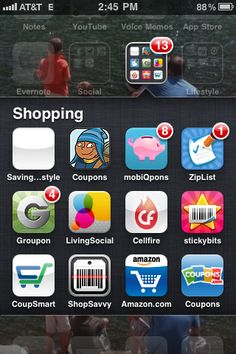 iPhone Apps for Savings