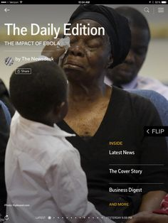 Impact of Ebola, space advancement and social oversharing in today's Daily Edition.