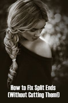 Hate split ends? Try these simple ways to tackle them when getting your #hair cut isn't an option! #SplitEnds #beauty romantic braids for long hair, nail, curly hair braids long, fashion styles, wavy hair, makeup, wavi hair, beauti, different kind of braids