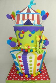 Let's Go to the Carnival Cake