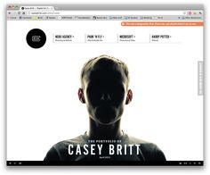 #webdesign #inspiration http://caseybritt.com/intro/cover