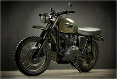 Triumph Desert by Drags and Racing