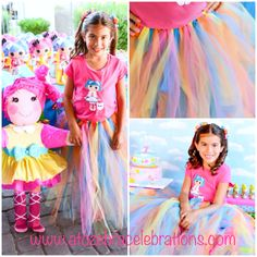 My daughters #lalaloopsy party on the blog- www.atozebracelebrations.com