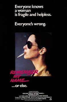 Remember My Name - USA (1978) Director: Alan Rudolph