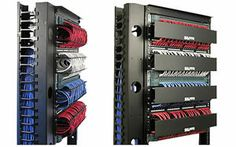 The Neat Patch cable rack is a revolutionary way to store excess cables in a neat and tidy manner. Installs discreetly between patch panels. You know you want it!
