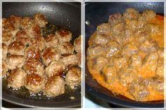 Фрикадельки с сметанной подливкой рецепт с пошагово