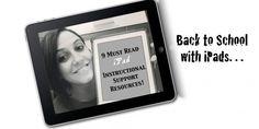 9 Must READ iPad Instructional Support Resources:  http://www.techchef4u.com/ipad/9-must-have-ipad-instructional-support-resources/