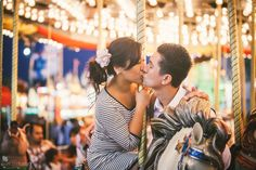 Carnival engagement shoot.  Vis Photography.
