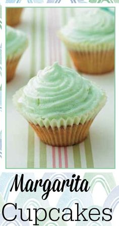 Margarita Cupcakes Recipe from Cupcakes and Cocktails #Recipe #GNO