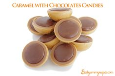 Homemade Caramel with Chocolates Candies