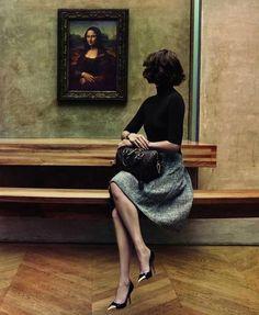 Arizona Muse | Inez van Lamsweerde and Vinoodh Matadin #photography | Louis Vuitton The Art of Travel Ad Campaign