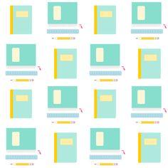 FREE digital back to school pattern paper ^^