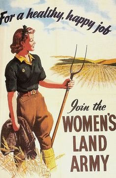 Womans Land Army 1942