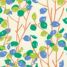 Buds fabric from Company C #fabric #floral