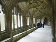 Lacock Abbey Cloisters - Lacock, Wiltshire, England - Filming location for Harry Potter & the Socerer's Stone & Harry Potter & the Half Blood Prince.