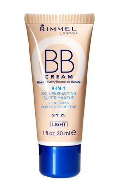 Rimmel BB cream in light.  Love this stuff! $6.99