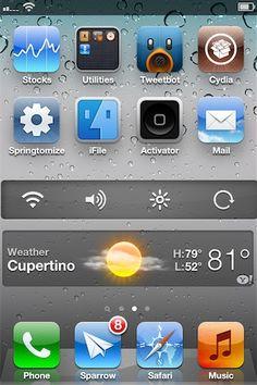 Dashboard X - Finally widgets on iPhone !