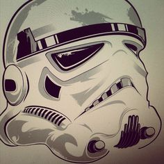 Done with this guy for tonight #WIP #stormtrooper