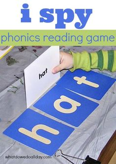 Great phonics game for at home learning. Teaches spelling and reading skills.