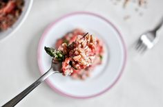 Roasted Strawberry Farro